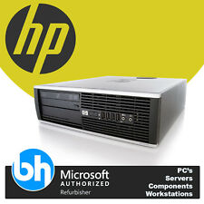HP 6305 Quad Core AMD A8 3.2GHz Win7 Pro SFF Desktop PC Customizable 8GB RAM 1TB