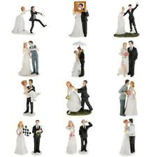 Romantic Wedding Resin Groom Bride Couple Figurine Wedding Centerpieces Decor