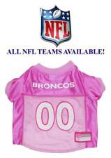 PINK NFL DOG JERSEY * All Teams Available * Football Team Sports Fan Puppy Shirt