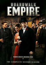 Boardwalk Empire: The Complete Second Season (DVD, 2014, 5-Disc Set)  NEW