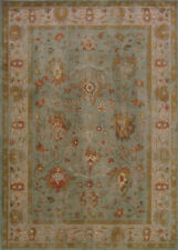 Blue Traditional - Persian/Oriental Floral Border Washed Area Rug Asian 4446C