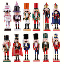 38/25cm Wooden Nutcracker Home Christmas Home Ornaments Festival Gift Decoration