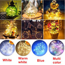 6pcs 2M Cork Shaped 20LED Night Light Starry Light Wine Bottle Lamp for Party
