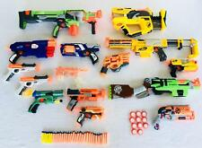 Lot 14 Nerf Guns Vortex Nitron Recon CS-6 Slingfire Firefly Rev-8 Dual Strike