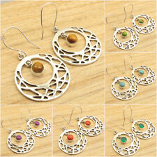 925 Silver Plated CELTIC Moon Earrings ! Highly Polish Jewelry for Her