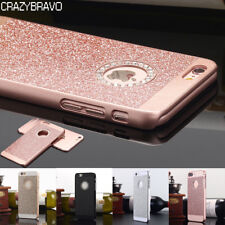 Luxury Bling Glitter Crystal Hard Back Case Cover for iPhone X 8 7 Plus 6S Plus