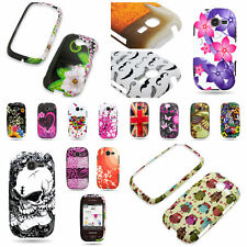 Samsung Gravity Q Thin Hard Rubber Design Phone Cover Case Accessory Shell