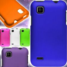 Hard Snap On Rubberized Protective Shell Phone Cover Case ZTE Illustra Z788G