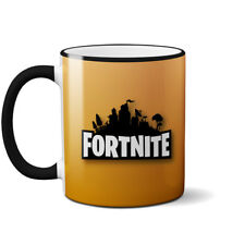 Fortnite Battle Royal Mug Personalize with name Epic Game Ceramic Coffee Cup