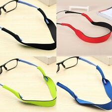 Neoprene Sports Band Neck Cord Strap Sunglasses Reading Glasses String Lanyard