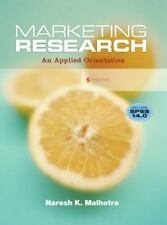 Marketing Research: An Applied Orientation (5th Edition)
