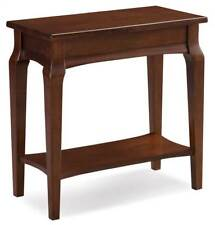 Narrow Chairside Table in Heartwood Cherry Finish [ID 3611553]