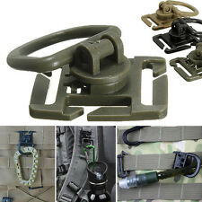 2/5Pcs Molle Strap Backpack Bag Webbing Connecting Buckle Clip EDC Outdoor Tools
