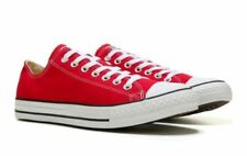 CONVERSE MENS CHUCK TAYLOR ALL STAR LOW TOP RED SHOES **FREE POST AUSTRALIA