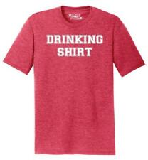 Mens Drinking Shirt Tri-Blend Tee Alcohol Beer Party St Pattys