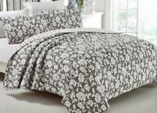 French Country Style Bed Quilt LYON New Coverlet incl 2 pillowcases
