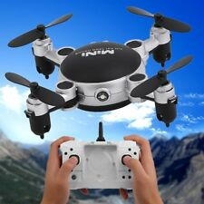 Foldable Camera WIFI FPV RC Quadcopter MINI HD Selfie Drone 4CH 6-Axis With LED