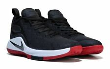 NIKE MENS LEBRON WITNESS II BLACK WHITE RED BASKETBALL SHOES **BEST SELLER