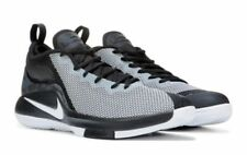 NIKE MENS LEBRON WITNESS II BLACK WHITE BASKETBALL SHOES **BEST SELLER