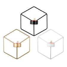 Nordic Style Geometric Candlestick Metal Candle Holder Sconce Wall Hanging Decor