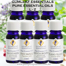Gumleaf Essentials Pure Essential Oils - Australian made - 26 Different scents