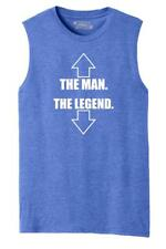 Mens The Man The Legend Funny Sexual Shirt Muscle Tank Dick Party