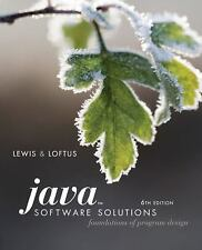 Java Software Solutions : Foundations of Program Design by William Loftus and...