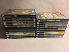 SONY PLAYSTATION 2 (PS2) GAMES LOT!! - VOLUME 2 - [COMPLETE W/ BOXES & MANUALS]