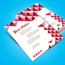 Printing: Premium Full Color Flyers (5.5x8.5, half letter size)