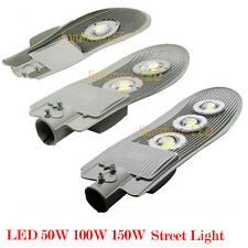 50/100/150W LED Street Road Outdoor Light Yard Industrial Lamp Cool Warm White