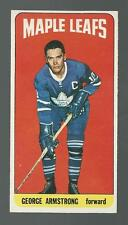 1964-65 Topps Tallboy Hockey George Armstrong Toronto Maple Leafs #69 EX