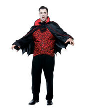 Vampire Count Classic Dracula Gothic Horror Halloween Men Costume Plus