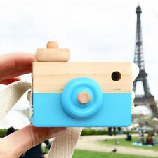 1 Pc Cute Wood Camera Toys Safe Natural Toy For Baby Children Fashion Clothing
