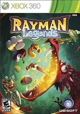 Rayman Legends Microsoft (Xbox 360, 2013) w/Orig Art,Case, NO Inserts