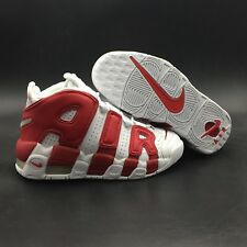 Nike Air More Uptempo Red/White 96 Air Pippen Mens Size 8-13