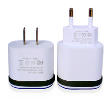 Dual Port Fast Charging USB Wall Charger Adapter with Cable For iPhone Samsung