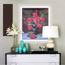 5D Rose Vase Diamond Painting Mosaic Embroidery DIY Craft Cross Stitch ESY1