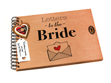 Letters to the Bride, Scrapbook, Photo Album, Wedding Day Keepsake Gift A4/A5