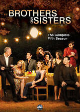 Brothers and Sisters: The Complete Fifth Season 5 Five (DVD, 2011, 5-Disc Set)