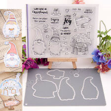 Clear Silicone Stamp Cutting Dies For DIY Scrapbooking Photo Album Card Craft