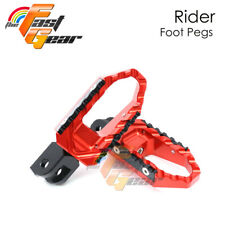 TFG CNC Front Rider Wide Foot Pegs For Yamaha YZF R6 03 04 05 06 07-15