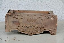 STUNNING HAND CARVED WOODEN GOTHIC FANCY TRINKET BOX CARVING