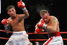 Arturo Gatti vs Micky Ward Boxing Fabric Poster Sport Decor 18x12""