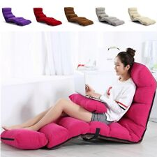 205CM 3 Folding Lazy Sofa Chair Portable Stylish Couch Bed Lounge With Pillow