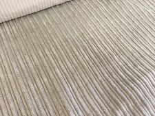 3.4m Lot Of Mink Jumbo Cord Upholstery Fabric, No Reserve