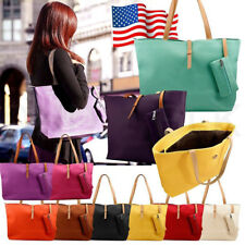 2pc Womens Shoulder Bags Fashion Messenger Handbag Lady Shoulder Bag Totes Purse