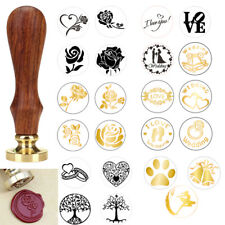Stamp Wooden Wax Seal