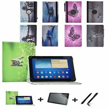 "3 in 1 SET Premium 10.1"" Tablet Case / 360 Cover Odys Gambit 10 plus 3G (2017)"