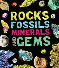 ROCKS, FOSSILS, MINERALS, AND GEMS - NEW BOOK