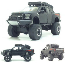 New 1:32 Ford Raptor F150 Pickup Truck Metal Toy Cars Model With Music Flashing
